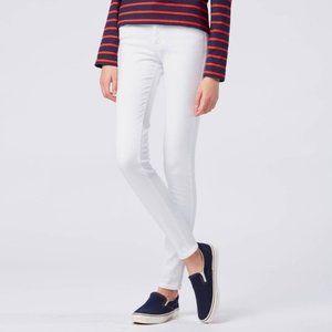 Uniqlo White Ultra Stretch Jeans
